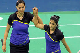 Jwala Gutta's partnership with Ashwini Ponnappa for women's doubles
