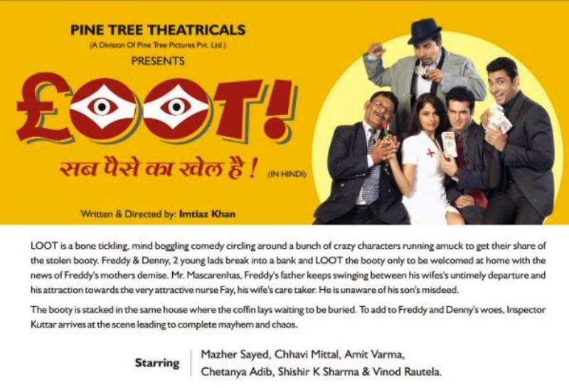 Loot- A Theatre Play Written and Directed by Imtiaz Khan
