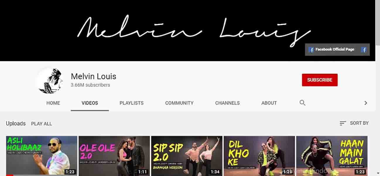 Melvin Louis Youtube Channel