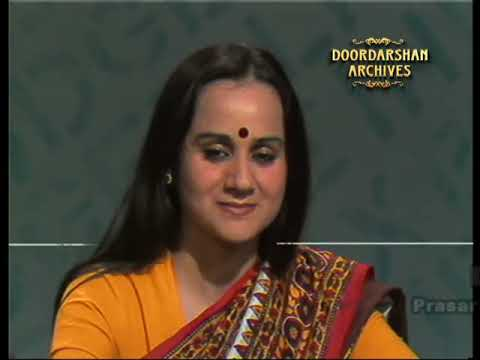 An old picture of Nalini Singh