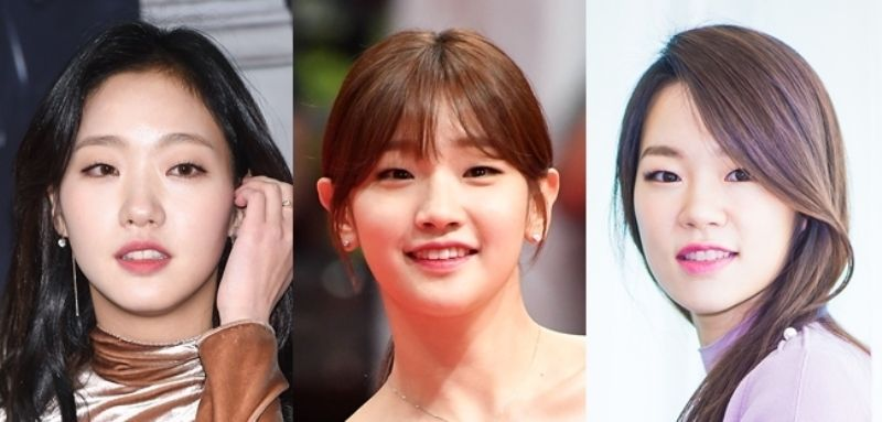Park So-dam, Kim Go-eun, and Lee Yoo-young