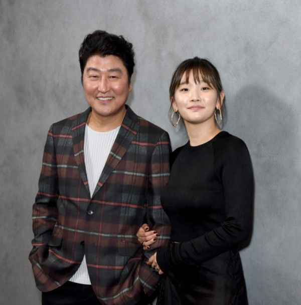 Park So-dam with Song Kang-ho