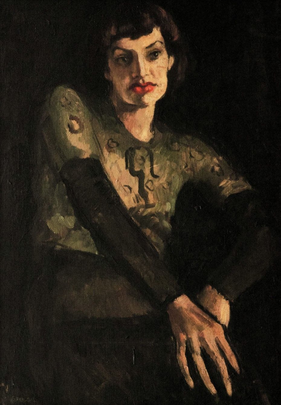 Portrait of Marie Louise Chassany by Amrita Sher-Gil