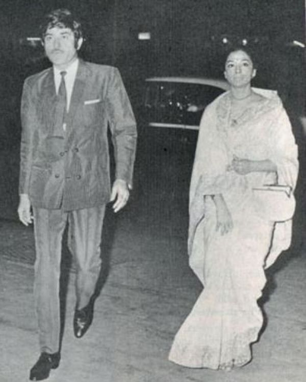 Raaj Kumar with his sister