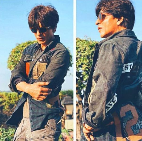 Shah Rukh Khan Wearing a Jacket 'Styled by GG'