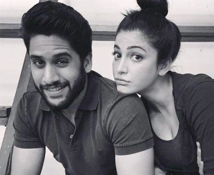 Shruti Haasan With Naga Chaitanya