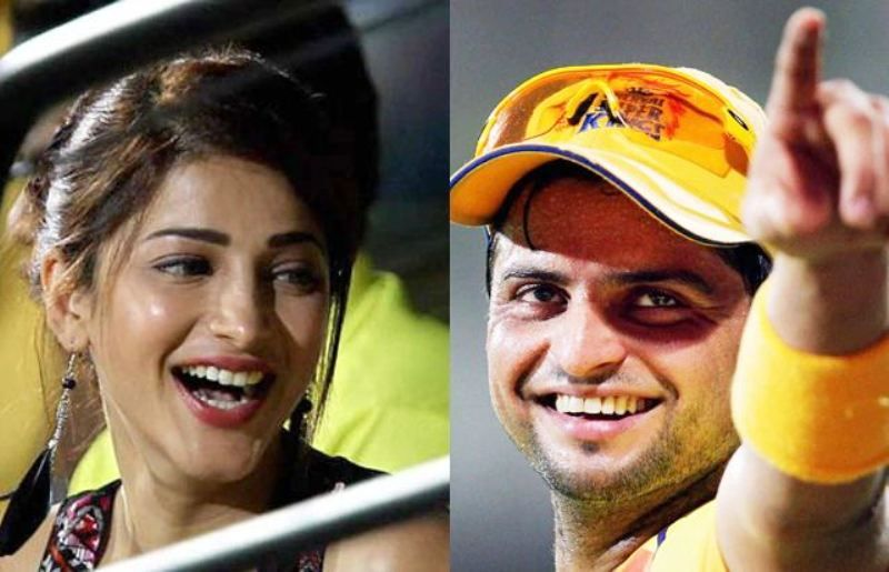 Shruti Haasan and Suresh Raina