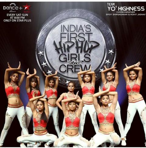 Sonal Vichare with her Yo' Highness Team