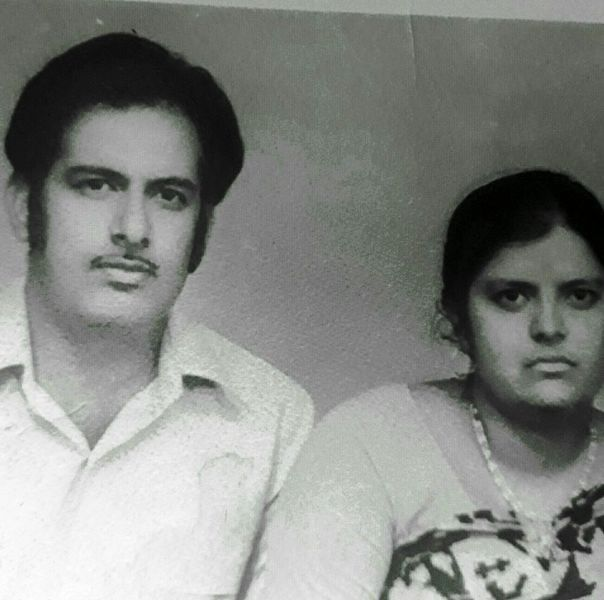 Sumit Awasthi's Parents