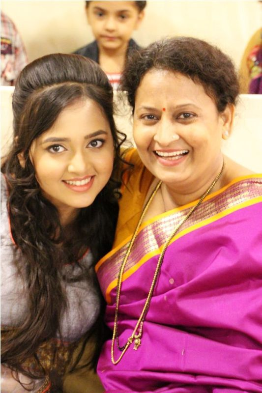 Tejasswi Prakash With Her Mother
