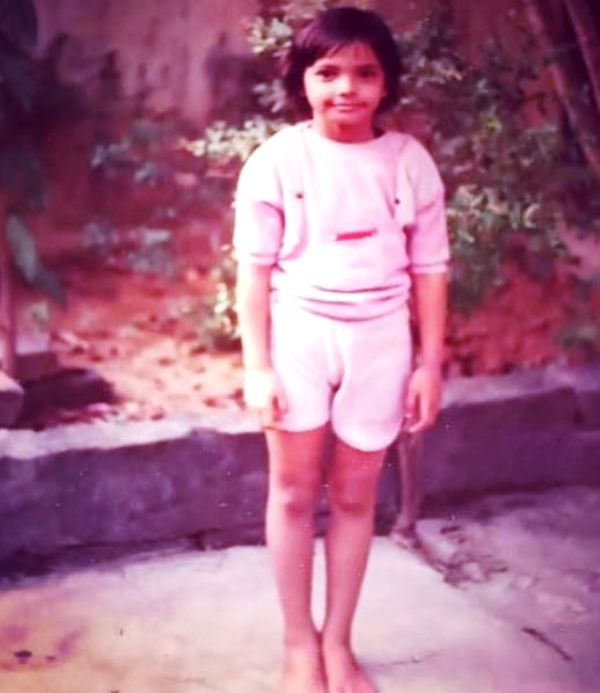 A Childhood Picture of Shweta Jha