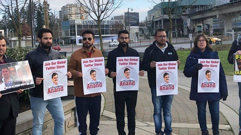 A Protest Against the Arrest of Anand Teltumbde Outside India