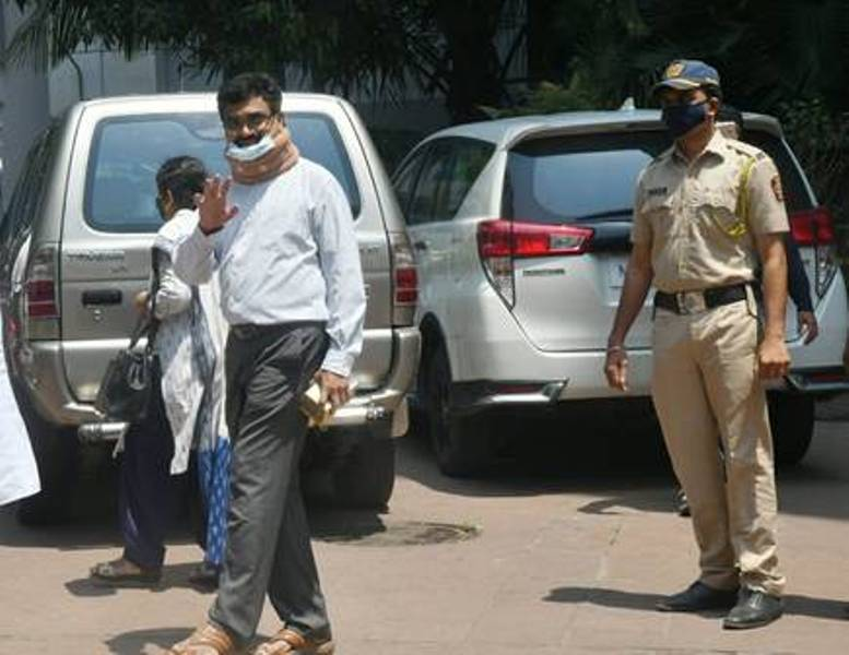 Anand Teltumbde arrives at NIA office to surrender in Bhima Koregaon case in Mumbai
