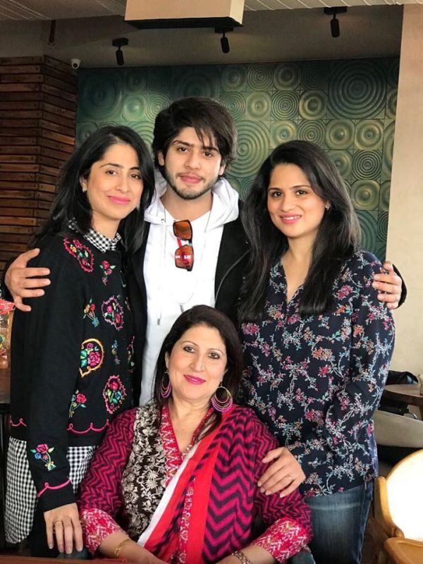 Arjun Firoz Khan's Wife and Children