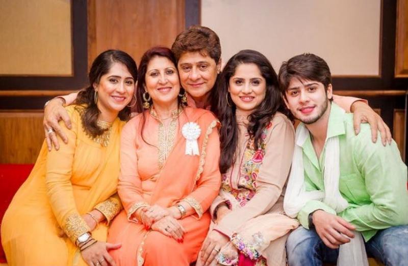 Arjun Firoz Khan With His Wife and Children