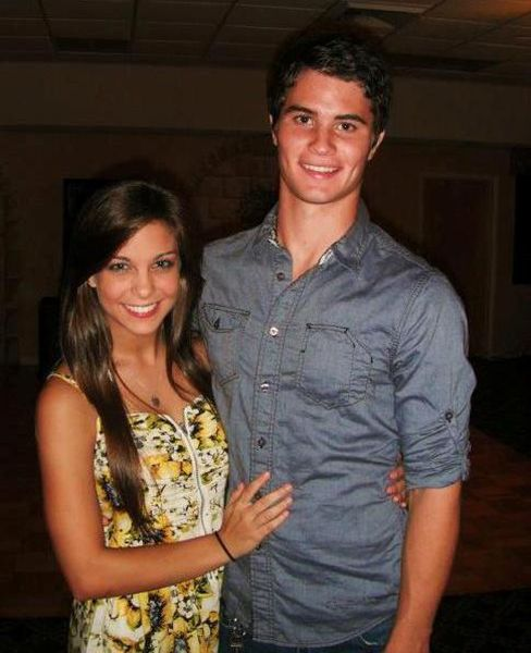 Chase Stokes with His Girlfriend