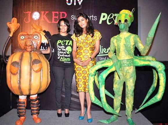 Chitrangada Singh as the brand ambassador of PETA
