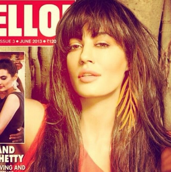 Chitrangada Singh on the cover of the Hello Magazine