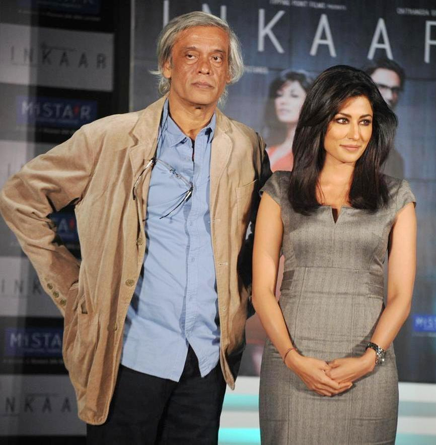 Chitrangada Singh with Sudhir Mishra