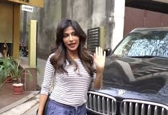 Chitrangada Singh with her car