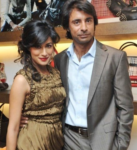 Chitrangada Singh with her ex-husband