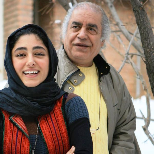 Golshifteh Farahani With Her Father