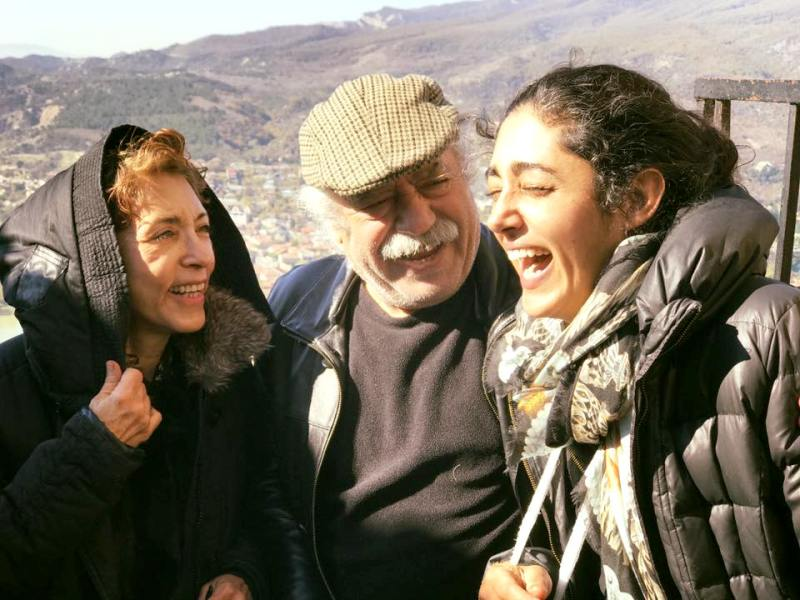 Golshifteh Farahani With Her Parents