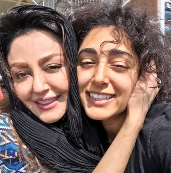 Golshifteh Farahani With Her Sister