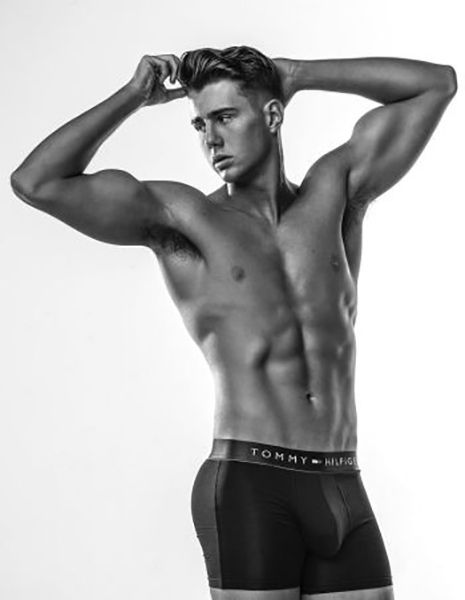Harry Jowsey Modelling for Tommy Hilfiger