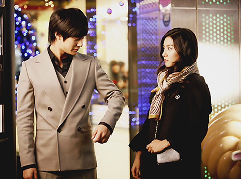 Kim So-eun in a Scene from Boys Over Flowers (2009)