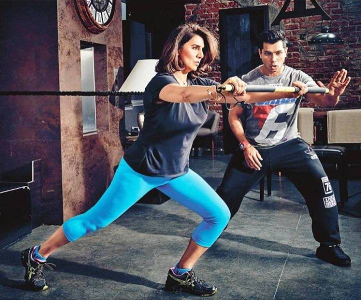 Neetu Singh Working Out in Gym