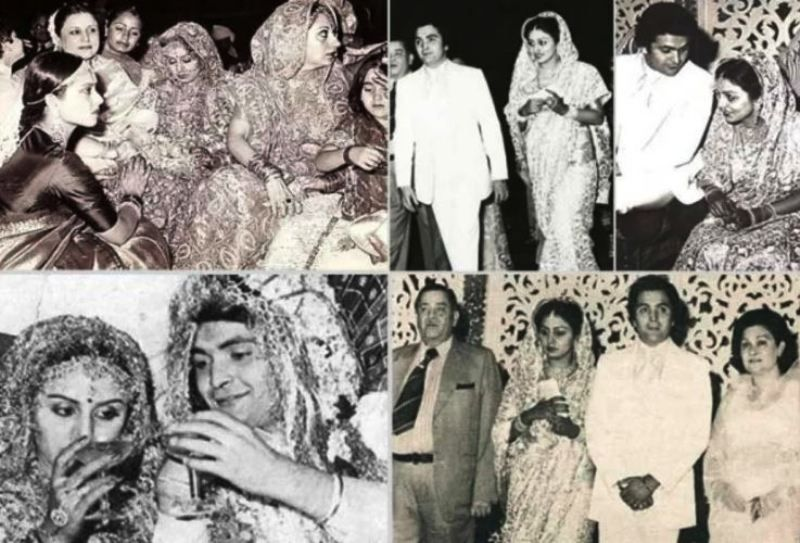 Neetu Singh and Rishi Kapoor's Wedding Picture