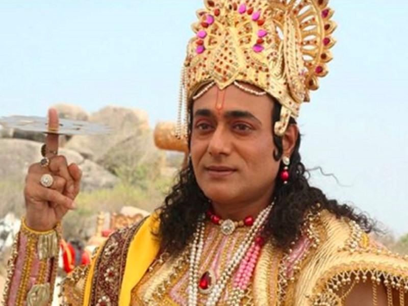 Nitish Bharadwaj as Lord Krishna in Mahabharat