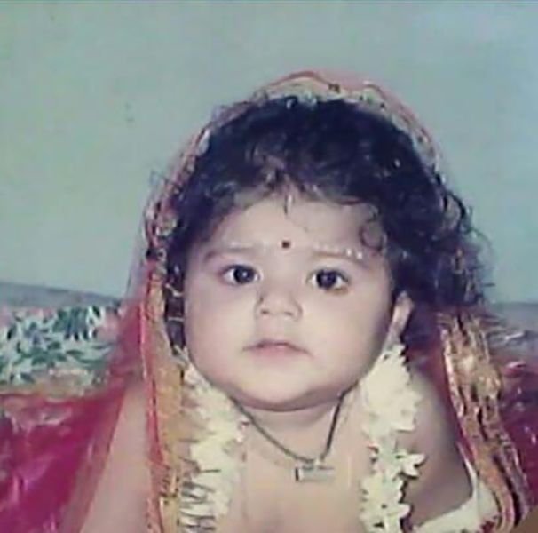 Pallavi Mukherjee As a Child