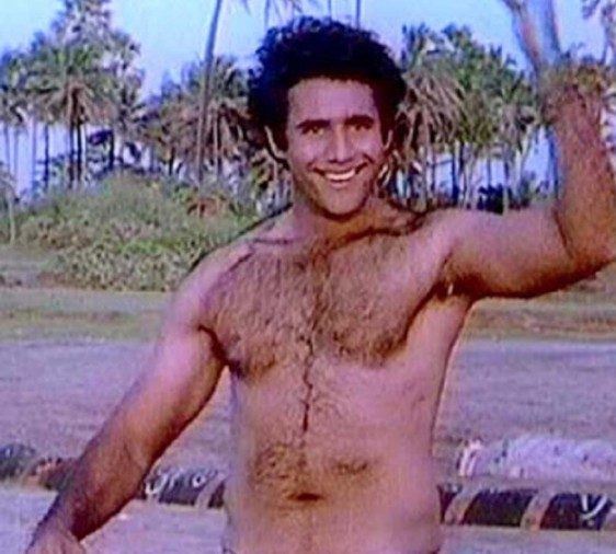 Puneet Issar in his younger days