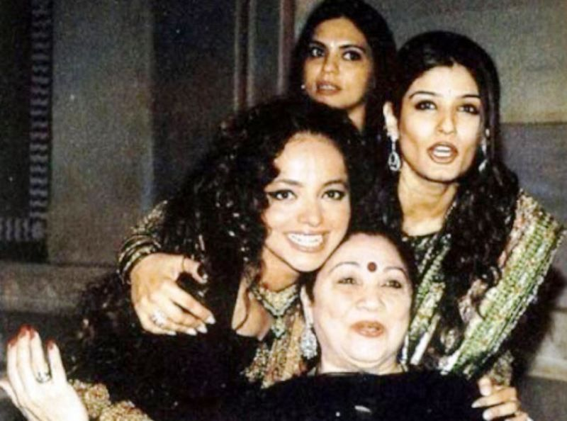Rakhee Tandon With Raveena Tandon