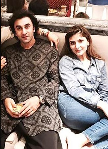 Riddhima Kapoor Sahni with her Brother