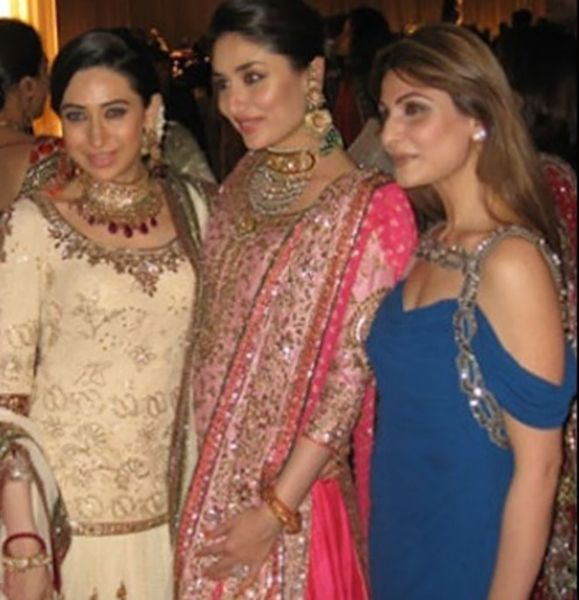 Riddhima Kapoor Sahni with her Cousins - Karishma Kapoor and Kareena Kapoor Khan