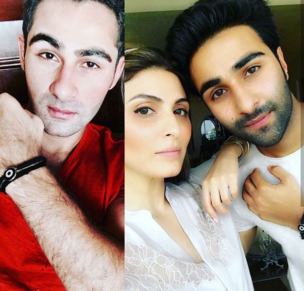 Riddhima Kapoor Sahni with her Cousins - Armaan Jain and Aadar Jain