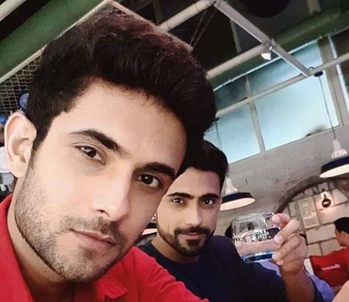 Sanam Puri with his Brother