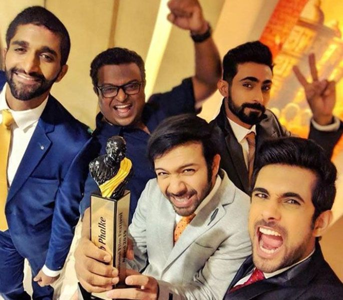 Sanam with their DadaSaheb Phalke Award