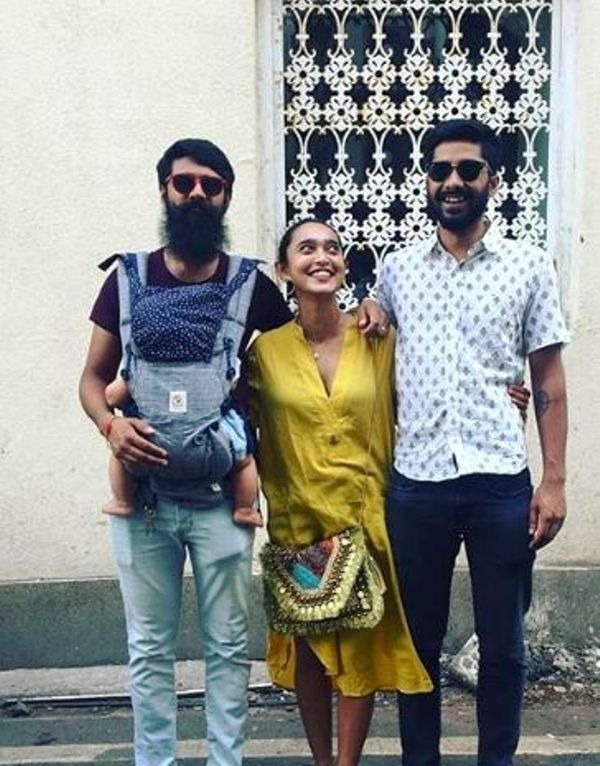 Sayani Gupta With Her Brothers