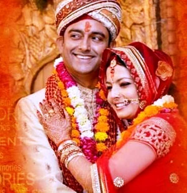 Shweta Jha's Marriage Photo
