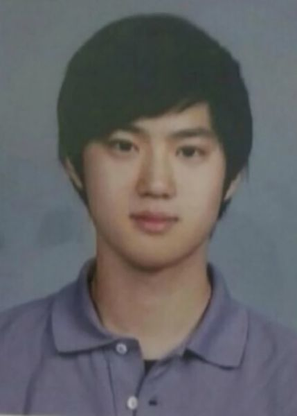 Suho During his School Days