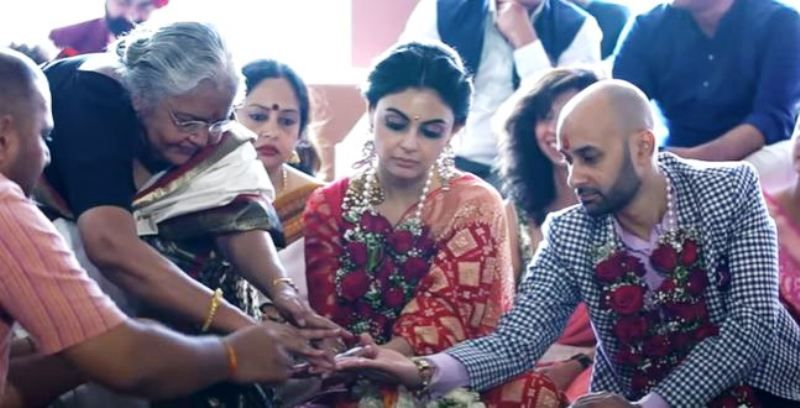 Suparna Moitra's Wedding Picture