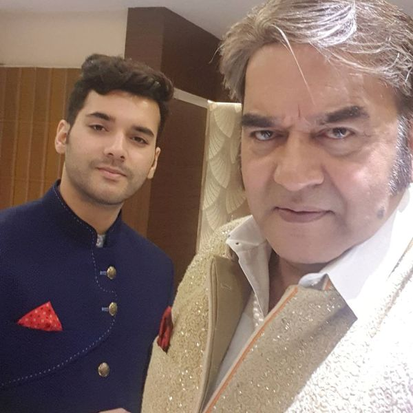 Surendra Pal With His Son Shubham