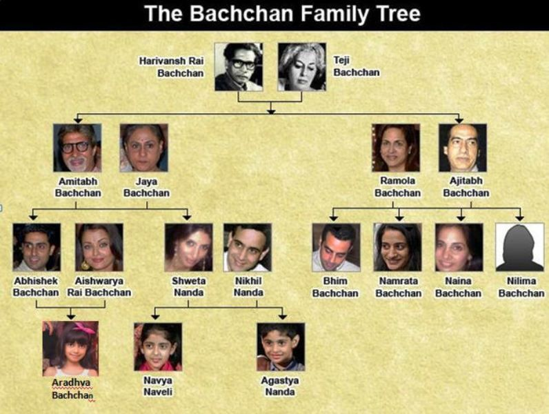 The Bachchan Family Tree