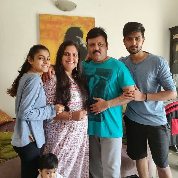 Vandana Pathak With Her Family