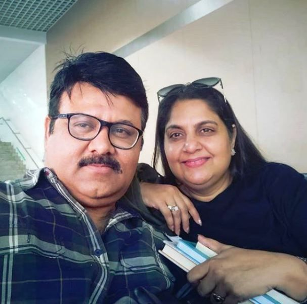 Vandana Pathak With Her Husband