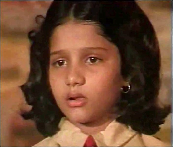 A Childhood Picture of Shweta Rastogi
